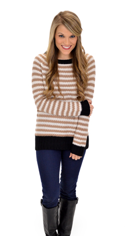 Stay Up Latte Sweater