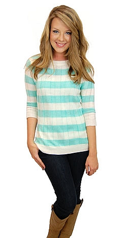 Tiffany Stripes Pullover