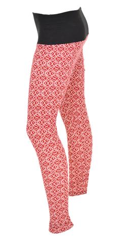 Interlock Leggings, Red