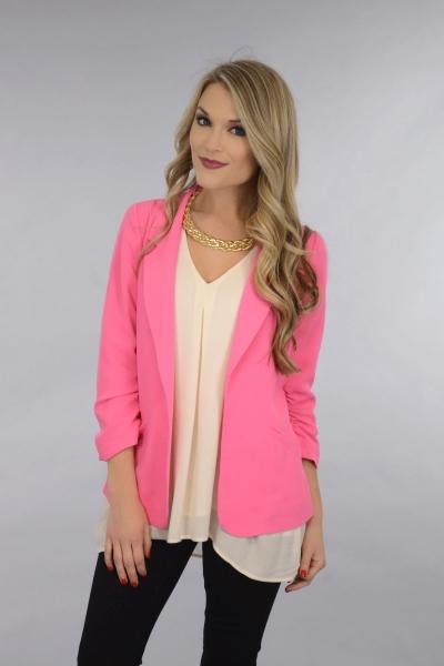 Pink Lady Blazer