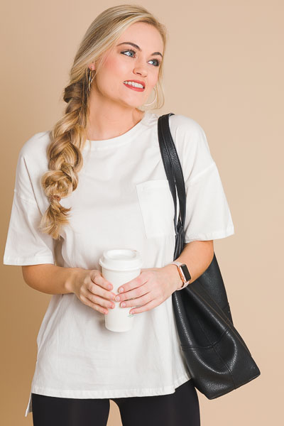 Chill Day Tunic, Off White
