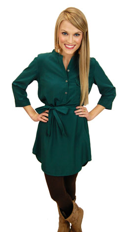 Best Bet Frock, Green