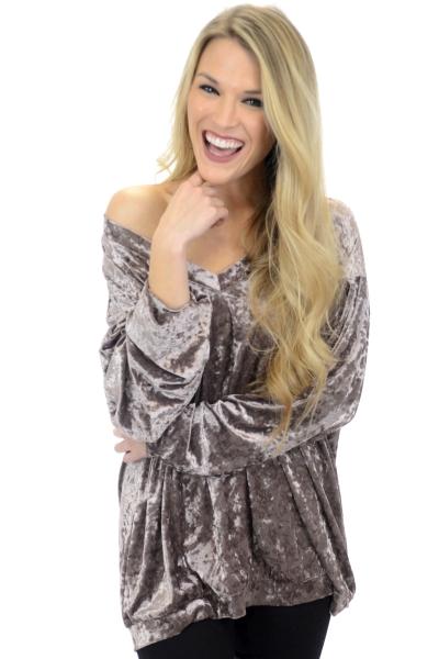 Velvet Glimmer Pullover
