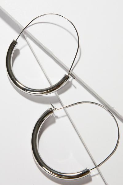 Tube Loops, Silver