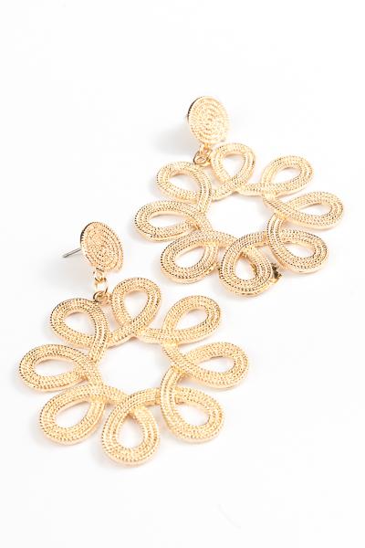 Kamdyn Gold Earrings