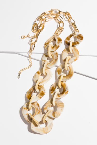 Hampshire Necklace, Cream