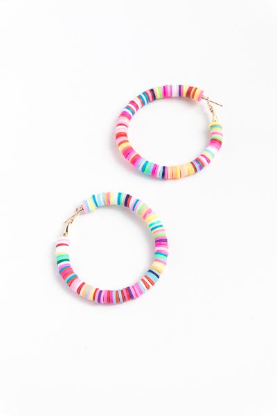 Rubber Rainbow Hoops