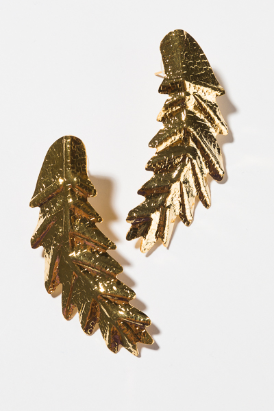 T. Jewels Gold Feather