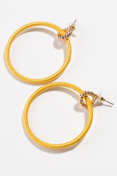Thread Circle, Yellow
