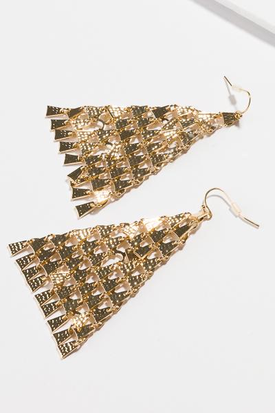 Dabi Triangle Earring