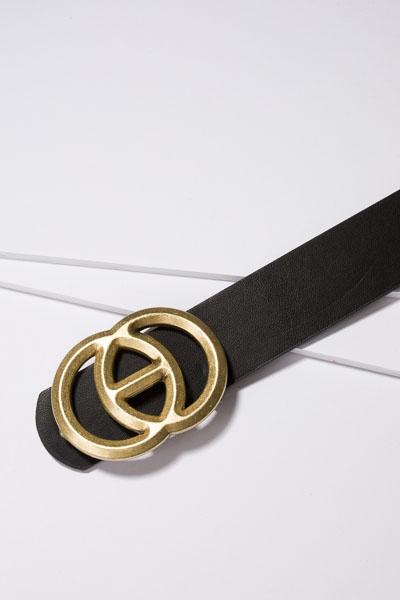 Center Link Belt, Black