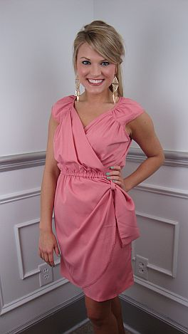 Charlie's Angel Dress, Pink