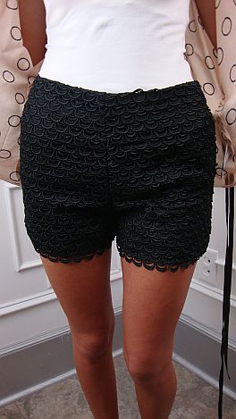 Vogue Shorts, Black