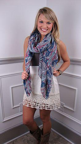 Cream Crochet Skirt