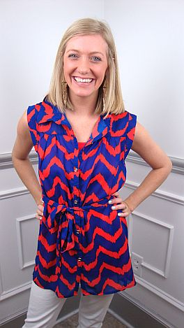 Wave On Wave Tunic