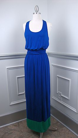 Colorblock Maxi, ROYAL