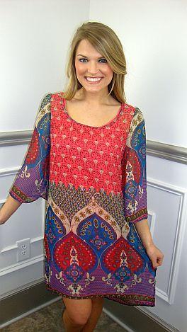 Globe Trotter Dress