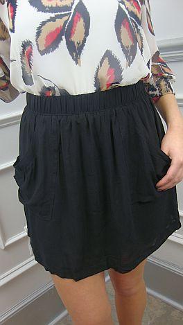 Old Faithful Black Skirt