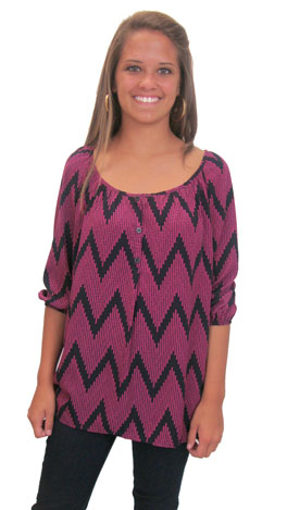 Moves Like Jagger Top, Pink
