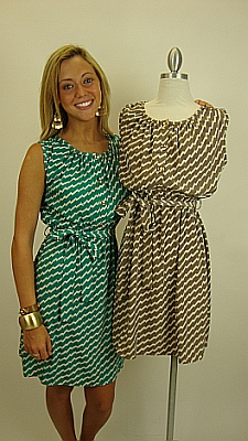 Lookout Mountain Dress, Mocha