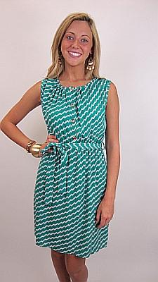 Lookout Mountain Dress, Jade