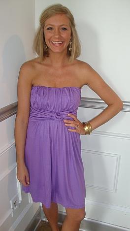 Fields of Lavender Tube Dress
