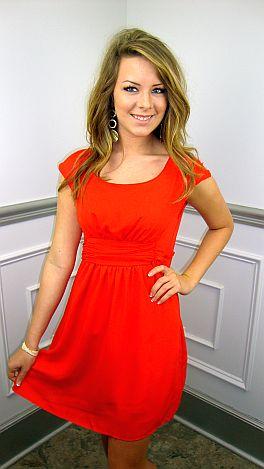 The Red Eye Dress