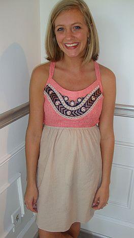 Dallas Smock Short Dress