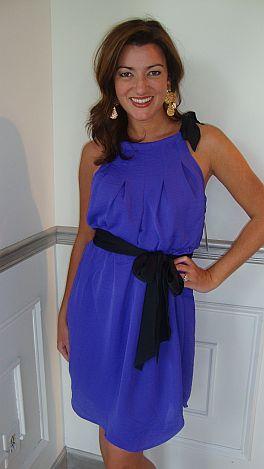 Purple Cosmo Dress