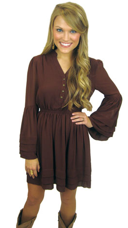 Southern Belle Sleeve Dress