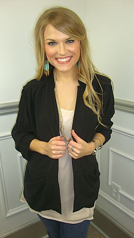 Fashion Addict Blazer, Black