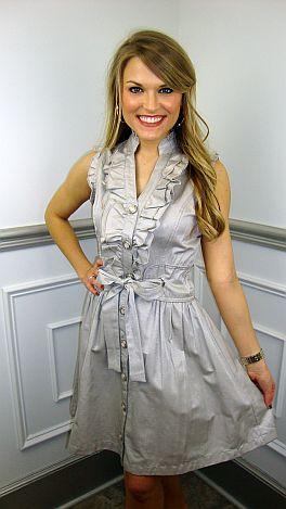 Kate Dress, Silver