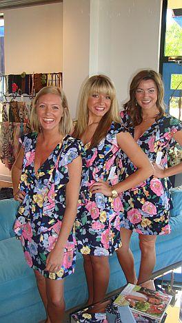 KARLIE Betsy's Rose Garden Dress
