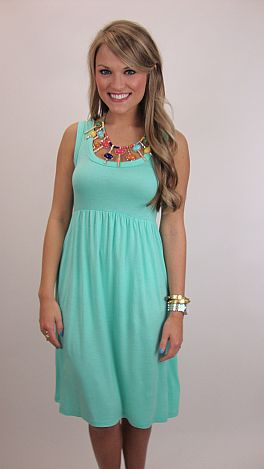 The Blue Door Knit Dress, Mint