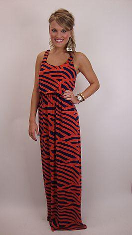 The Tiger Walk Dress
