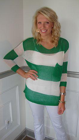 Kelly Sail Away Stripe Tunic