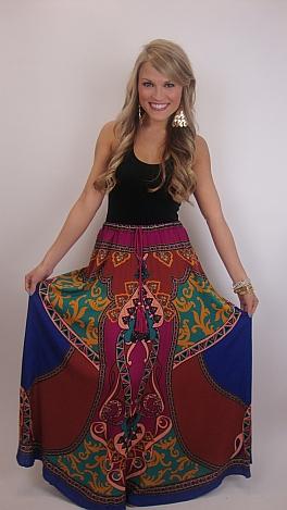 Moroccan Your Socks Off Skirt