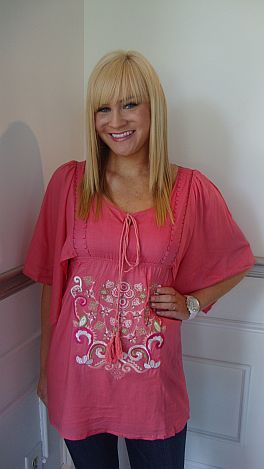Florence Flutter Sleeve Tunic