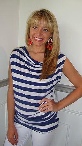 Saucy Sailor Stripe Tunic