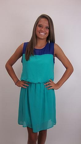 Daily Double Dress, Jade