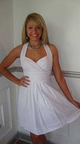 Bride's Brunch Eyelet Dress