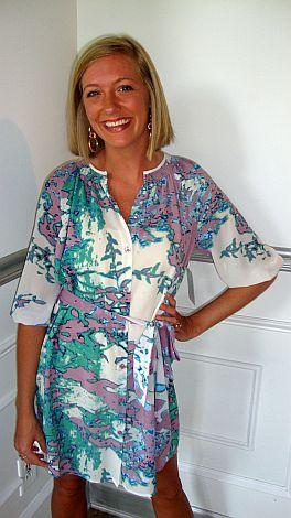 Purple Marbles Dress