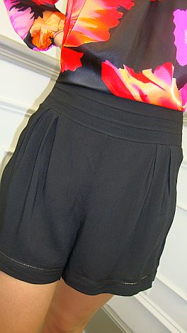 Sha-zam Shorts Black