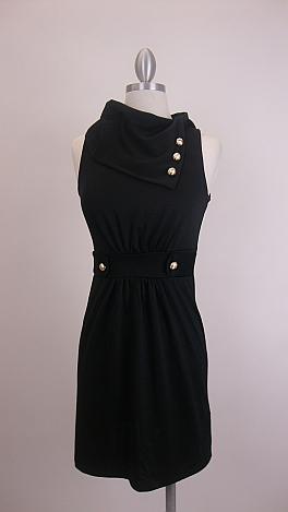 Class Act Dress, Black