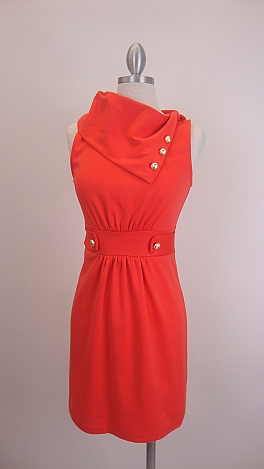 Class Act Dress, Orange