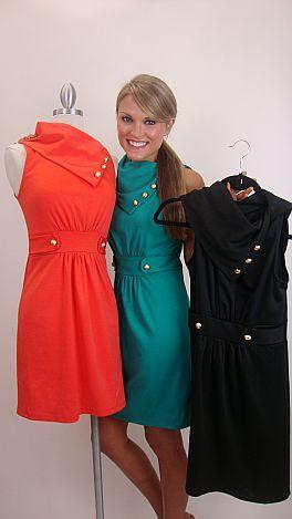 Class Act Dress, Jade