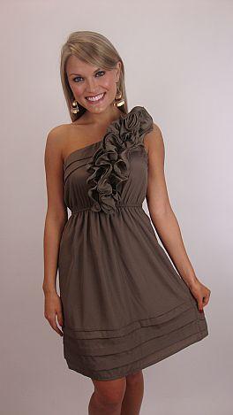 Last Dance Dress, Brown