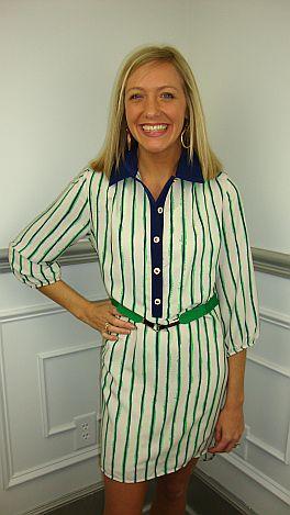 St Patty's Shirtdress