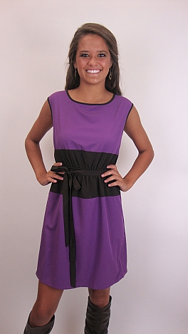 Middle of Nowhere Dress, Purple