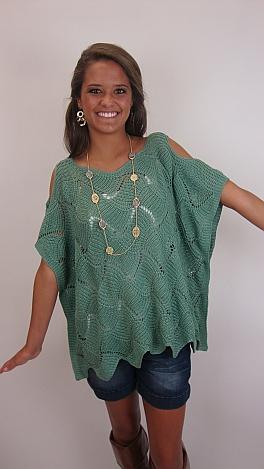 Like A Moss Sweater